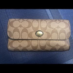 Coach Checkbook and Wallet
